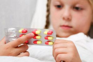 أضرار المضاد الحيوي للأطفال