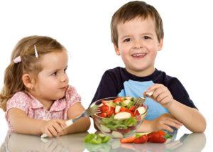 نظام غذائي للأطفال لزيادة الوزن